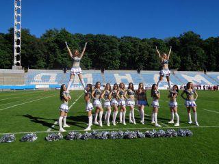 Матч по американскому футболу в Киеве, фото А.Токарь