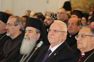 Встреча президента Ривлина с христианскими лидерами, фото Киев еврейский