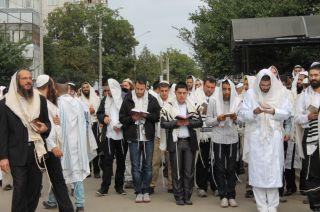 хасиды в Умани, фото Киев еврейский