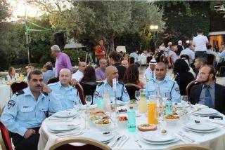 Ужин в резиденции Шимона Переса, фото Киев еврейский