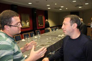 Пресс-конференция Геннадия Корбана и Бориса Филатова, фото Киев еврейский