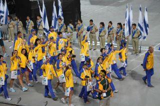 Сборная Украины на Маккабиаде, фото Киев еврейский
