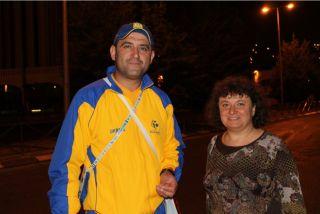Анатолий Колтыпин и Элеонора Гройсман, фото Киев еврейский