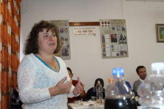 Выступление Элеоноры Грйсман, турнир по боулингу в Израиле, фото Киев еврейский