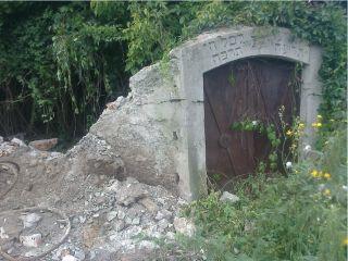 разрушенное еврейское кладбище в Черткове, фото Яков Баранов