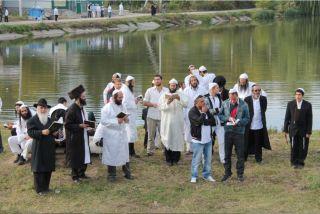 паломничество хасидов в Умани, фото Киев еврейский
