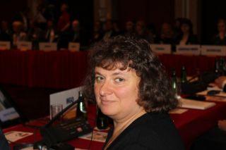 Элеонора Гройсман на конференции ОБСЕ