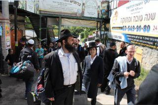 паломничество хасидов, фото Киев еврейский