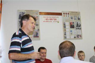 Выступление Посла Беларуси, турнир по боулингу в Израиле, фото Киев еврейский