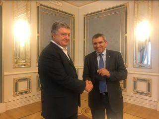 Визит министра Элькина в Украину