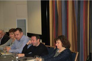 Борис Филатов, Геннадий Корбан, пресс-конференция в Тель-Авиве, фото Киев еврейский